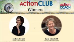 Indira Couch as ActionCLUB winners 2020