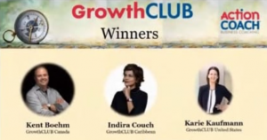 Indira Couch as GrowthCLUB winners 2020