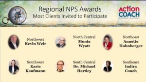 Indira Couch wins Regional NPS Award 2020